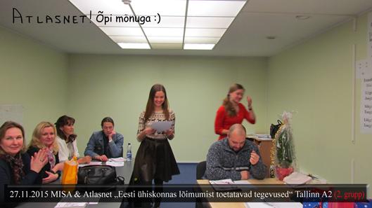 MISA Eesti keele kursused Tallinnas Atlasnet 2gr