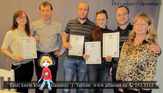 Esti keele kursused. Atlasnet. 3 kursus