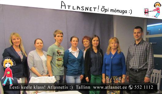 Eesti keele kursused Atlasnetis - B2!