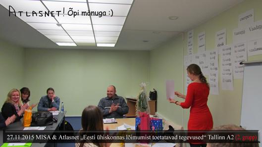 MISA Eesti keele kursused Tallinnas Atlasnet