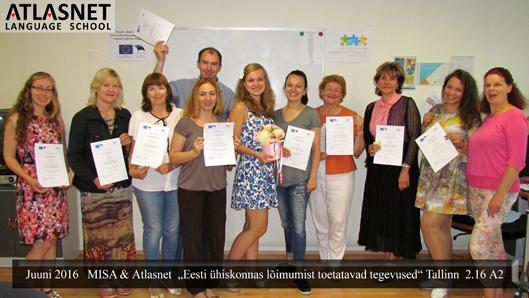 Eesti keele kursused 2016 Atlasnet