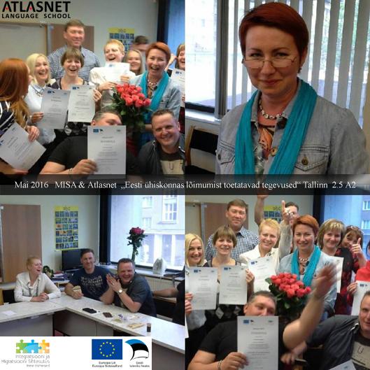 Atlasnet & MISA Tallinn Eesti keele kursused